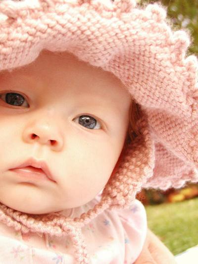 Free Knit Pattern Baby Hat-BYSWEETMOM Knitting Crochet ...
