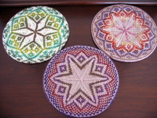 Three Tams - Winter 2007 - Knitty