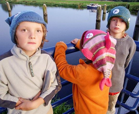 Knitty Fish Hat Winter 2008