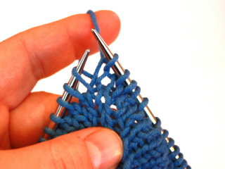 Knit Stitch Below Increase : Increases - Techniques with Theresa - Knitty: Winter 2009