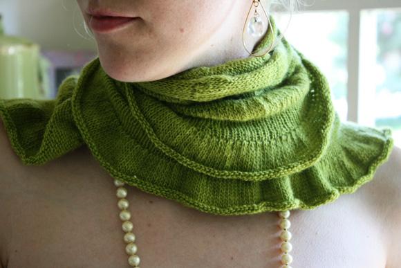 Citron Shawl Knitty Winter 2009