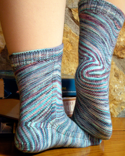skew sock pattern