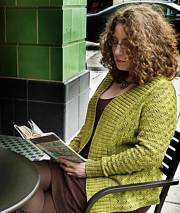 Zora Cardigan-原文图解 - Tina - Tina的手工编织的博客