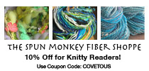 Spun Monkey Fiber Shop