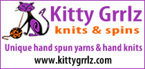 Kitty Grrlz knits & spins