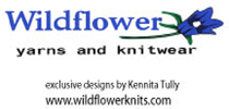 Wildflower yarns and knitwear