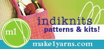 Indiknits patterns and kits