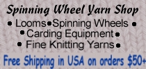 Spinning Wheel Yarn Shop